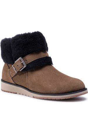 Emu Kobieta Botki - Buty - Oxley Fur Cuff W11698 Coriander
