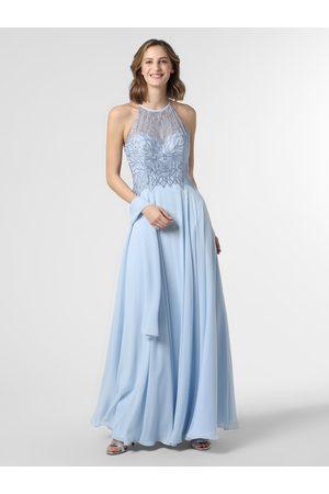 Luxuar Damska sukienka wieczorowa z etolą