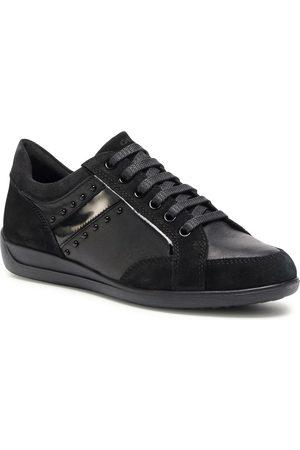 Geox Sneakersy - D Myria H D0468H 02285 C9999 Black