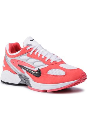 Nike Mężczyzna Buty casual - Buty - Air Ghost Racer AT5410 601 Track Red/Black/White