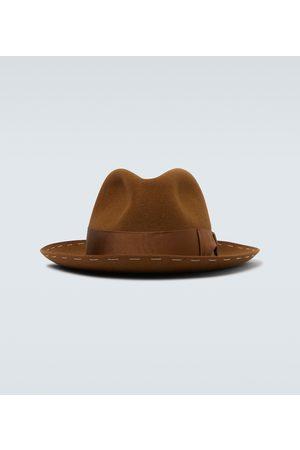 Borsalino Decor band fedora hat