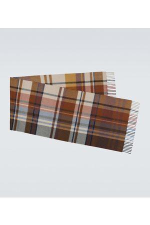Loro Piana Checked cashmere scarf