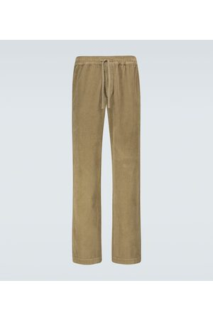 Isabel Marant Jailen corduroy drawstring pants