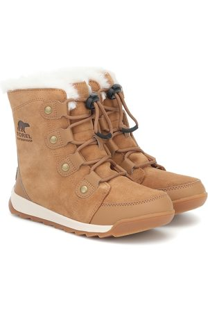 sorel Whitney II suede ankle boots