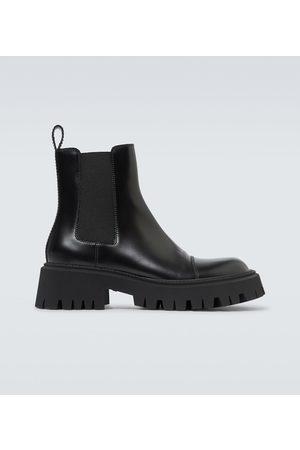 Balenciaga Botki - Tractor leather boots