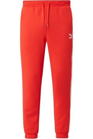 PUMA Spodnie dresowe z mieszanki bawełny