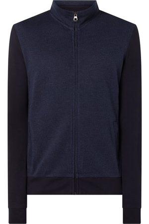 Pierre Cardin Bluza rozpinana z wstawką w kontrastowym kolorze