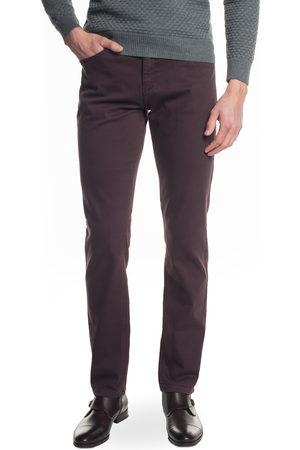Recman Mężczyzna Spodnie - Spodnie samer 225 bordo
