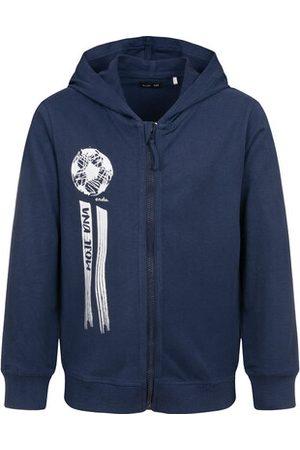 Endo Bluzy z kapturem - Bluza rozpinana z kapturem, granatowa, 9-13 lat