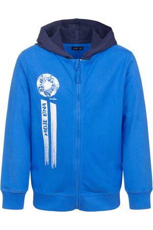 Endo Bluza rozpinana z kapturem, niebieska, 9-13 lat