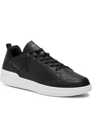 Arkk Copenhagen Sneakersy - Visuklass Leather S-C18 CR5902-0099-M Black/White