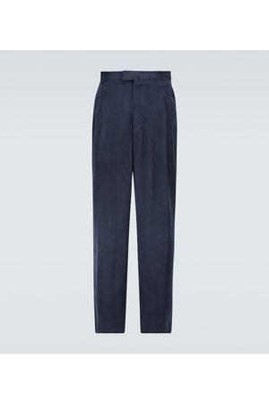 Nanushka Spodnie z szeroką nogawką - Eetu wide-leg pants