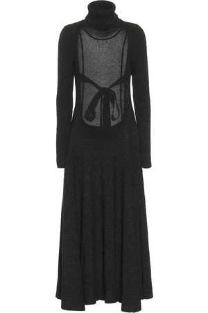 Alanui Turtleneck maxi dress