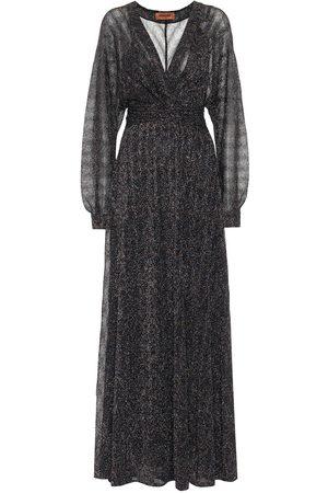 Missoni Kobieta Sukienki maxi - Stretch-silk lamé maxi dress