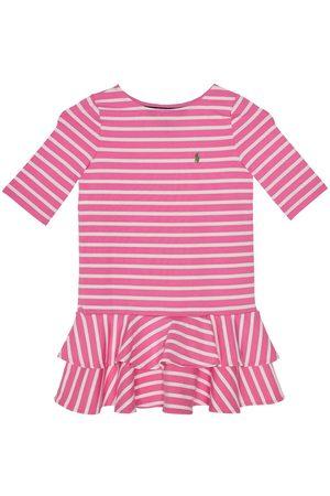 Polo Ralph Lauren Sukienka codzienna Stripe Knit 311784200 Regular Fit