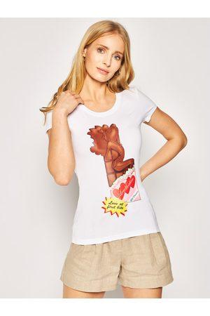 Love Moschino T-Shirt W4B195IE 1698 Slim Fit
