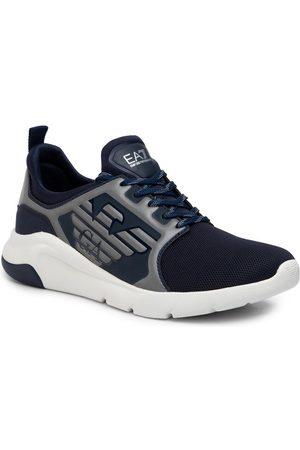 EA7 Sneakersy X8X057 XCC55 M506 Granatowy