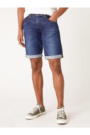 Wrangler Szorty jeansowe Colton W15VP111L Granatowy Slim Fit