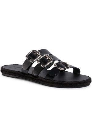 MANEBI Espadryle Leather Sandals S 2.1 Y0