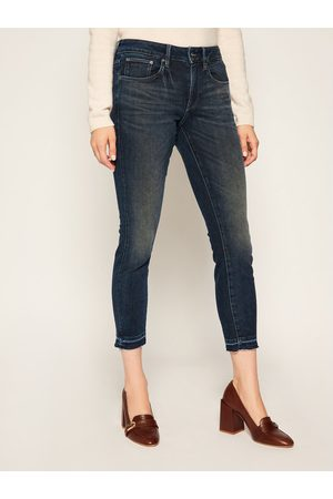 G-Star Jeansy Skinny Fit 3301 Rp Ankle D15943-C296-B824 Granatowy Skinny Fit
