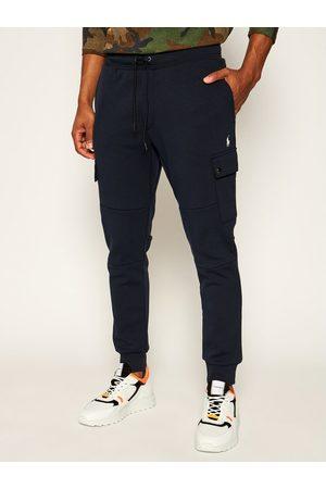 Polo Ralph Lauren Spodnie dresowe Classics 710730495003 Granatowy Regular Fit