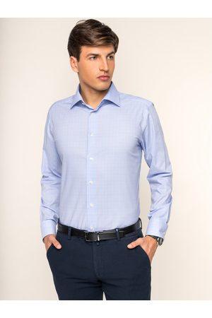 Mężczyzna Na co dzień - Eton Koszula 100000000 Niebieski Slim Fit
