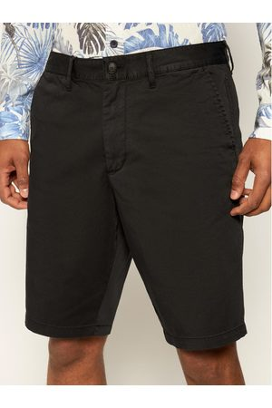 Mężczyzna Szorty - Emporio Armani Szorty materiałowe 3H1PB3 1NEDZ 0999 Czarny Regular Fit