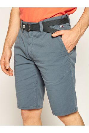 Tommy Jeans Szorty materiałowe Vintage DM0DM07932 Szary Regular Fit