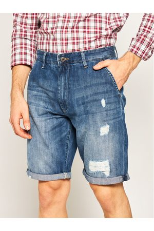 Pepe Jeans Szorty jeansowe Callen PM800771 Relaxed Fit
