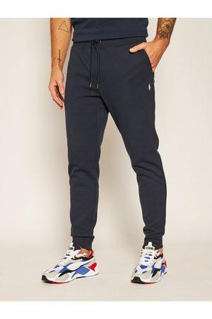 Polo Ralph Lauren Spodnie dresowe Core Replen 710652314002 Granatowy Regular Fit