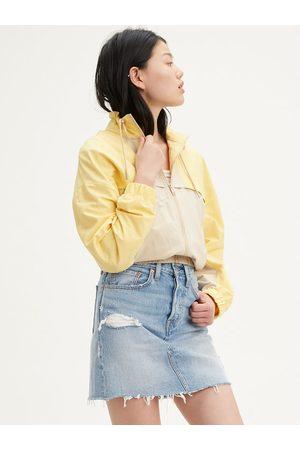 Levi's Spódnica jeansowa Deconstructured 77882-0015 Regular Fit