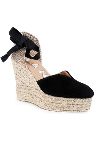 MANEBI Espadryle Heart Shape Wedges K 1.0 WH