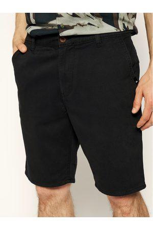 Mężczyzna Szorty - Quiksilver Szorty materiałowe EQYWS03468 Czarny Straight Fit