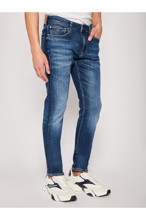 Calvin Klein Jeansy Slim Fit Da142 J30J315354 Granatowy Slim Fit