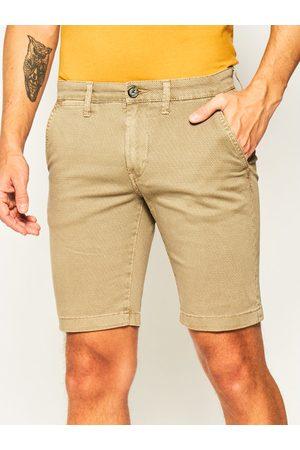 Pepe Jeans Szorty materiałowe Charly Minimal PM800773 Slim Fit