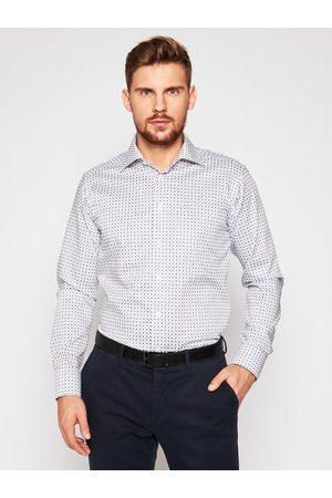 Eton Koszula 100001781 Biały Slim Fit