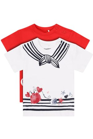 Primigi Komplet 2 t-shirtów Easy Wear Girl 45226501 Regular Fit