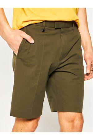 Mężczyzna Szorty - Hugo Szorty materiałowe Ferris202F1 50428075 Zielony Regular Fit