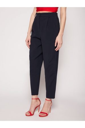 Max&Co. Chinosy Cartiera 71310720 Granatowy Relaxed Fit