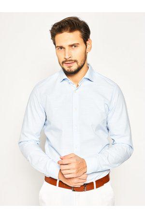 Mężczyzna Na co dzień - Strellson Koszula Sereno 30020157 Niebieski Slim Fit