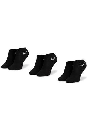 Nike Zestaw 3 par niskich skarpet unisex SX7677 010