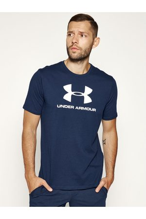 Under Armour T-Shirt Ua Sportstyle Logo 1329590 Granatowy Loose Fit