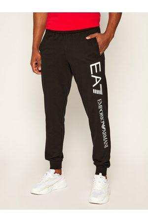 EA7 Emporio Armani Spodnie dresowe 8NPPC1 PJ05Z 0203 Czarny Regular Fit