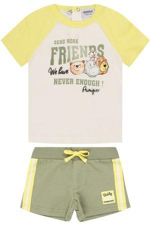 Primigi Komplet t-shirt i spodenki Eco Warrior 45196141 Regular Fit