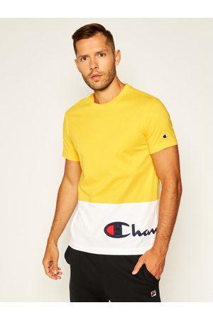 Champion T-Shirt Colour Block Wraparound Logo 214208 Comfort Fit