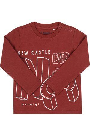 Primigi Bluzka Cars Club 44211012 Bordowy Regular Fit