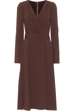 Dolce & Gabbana Crêpe midi dress