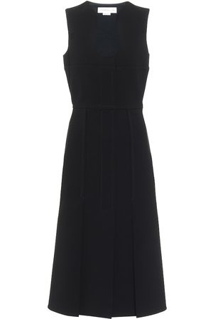 Victoria Beckham Crêpe midi dress