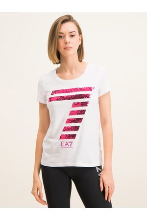 EA7 T-Shirt 3HTT41 TJ12Z 1100 Regular Fit