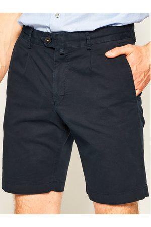 JOOP! Szorty materiałowe 17 JT-32Hakoon-D 30019927 Granatowy Slim Fit